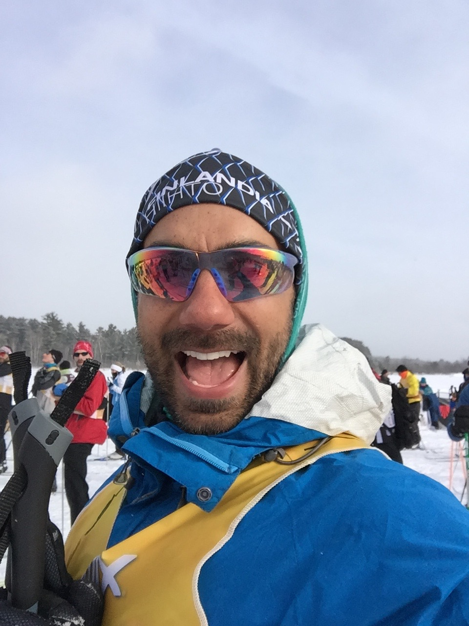Richard Bray on the Start Line of the American Birkie